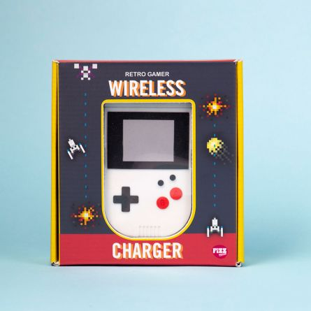 Caricabatterie Wireless Console Portatile Retrò