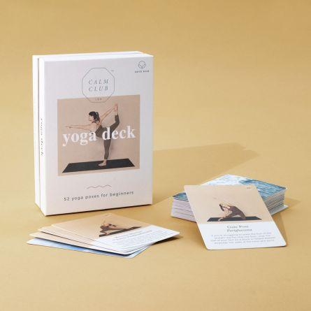 Carte Yoga con Posizioni per 52 Settimane