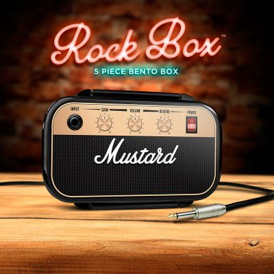Portapranzo Mustard Rock & Roll