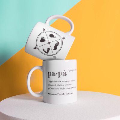 Tazze personalizzate - Tazza Personalizzata Papà