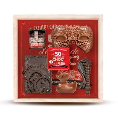 Cose Pazzesche - Cofanetto 50 Sfumature di Cioccolato