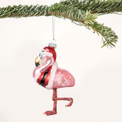 Addobbi Natalizi - Palla di Natale Mr. Fenicottero