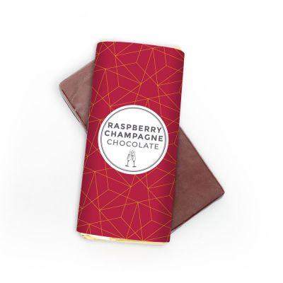 Cioccolato Classico con Lamponi e Champagne