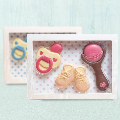 Regali per neonati - Set di Cioccolato Baby