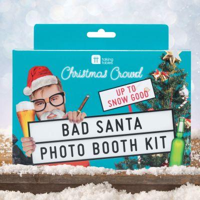 Decorazione - Kit Bad Santa per Foto di Natale