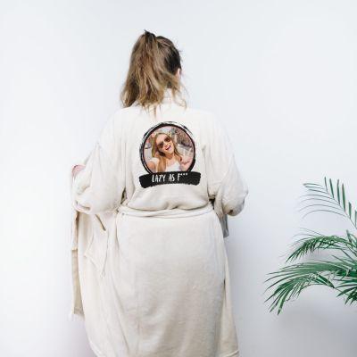 Homewear - Accappatoio Personalizzato con Foto e Testo