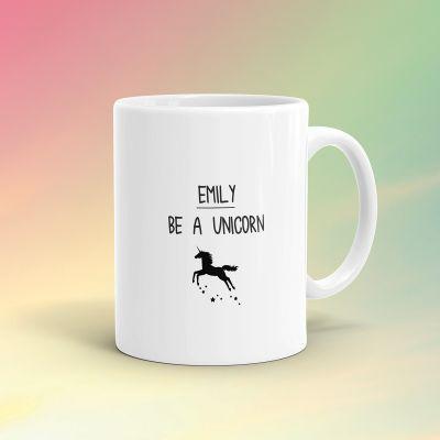 Tazze personalizzate - Tazza Personalizzata Unicorno