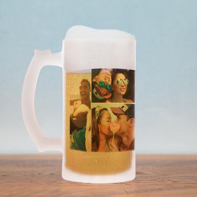 Tazze & Bicchieri - Boccale da Birra con 5 Foto
