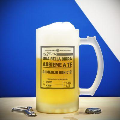 Addio al nubilato e celibato - Boccale da Birra Personalizzato