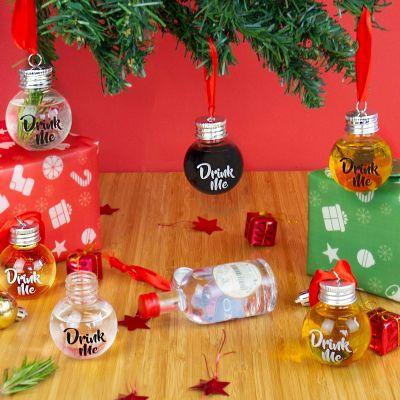 Decorazione - Palline Porta-Liquore per Albero di Natale