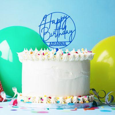 Regali di Compleanno per i 30 Anni - Cake Topper per Torta di Compleanno Personalizzabile