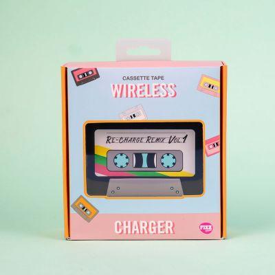 Regali di Natale per un'Amica o per la Fidanzata - Caricabatterie Wireless Musicassetta