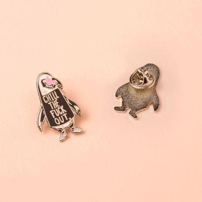 Gioielli - Spilletta Pinguino Chill Out