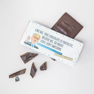 Regali di addio - Cioccolato Trump