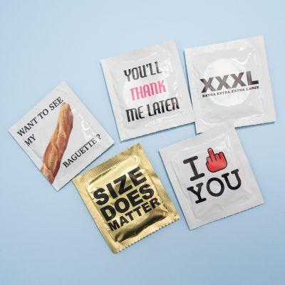Regali 18 anni - Set Preservativi Divertenti