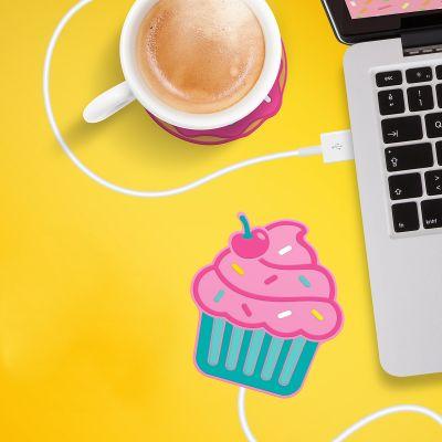 Divertimento in Ufficio - Scaldatazze USB Cupcake