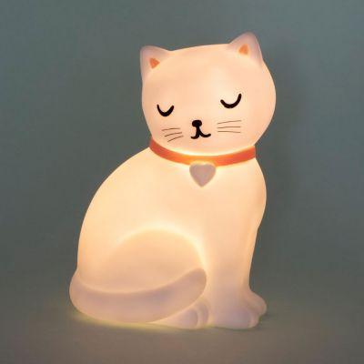 Luce notturna per gatti dolci