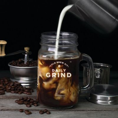 Cucina & Grill - Daily Grind Macinino da Caffè con Bicchiere
