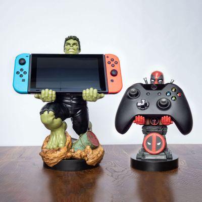 Giocattoli - Supporto per Smartphone Marvel con Cavo di Ricarica