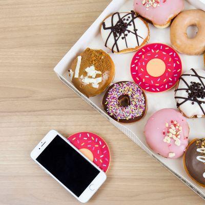 Regali per Lei - Caricatore wireless donut