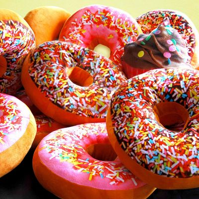 Regali San Valentino per Donne - Cuscino Donut