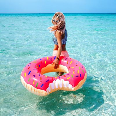 All'aperto - Ciambella Gonfiabile Gigante a forma di Donut