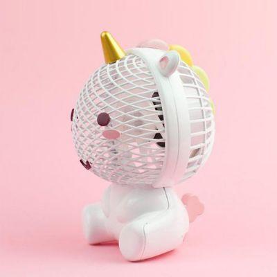 Divertimento ufficio - Ventilatore Unicorno Elodie con USB