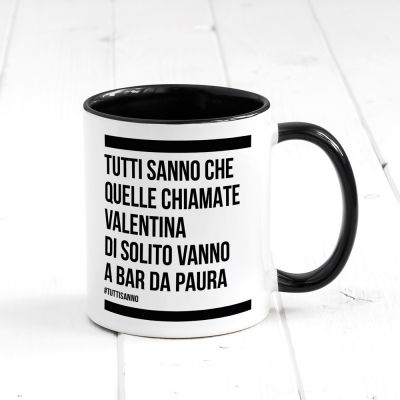 Tazze & Bicchieri - Tazza Personalizzabile Tutti sanno..
