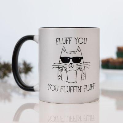 Tazze esclusivi - Fluff You Tazza Termosensibile