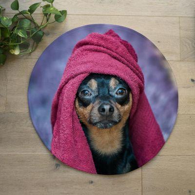 Tappetino da bagno con Foto Personalizzabile