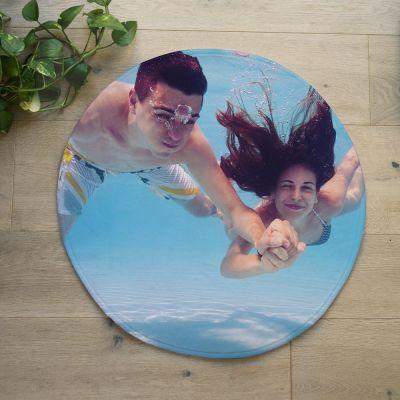 Regalo compleanno mamma - Tappetino da bagno con Foto Personalizzabile