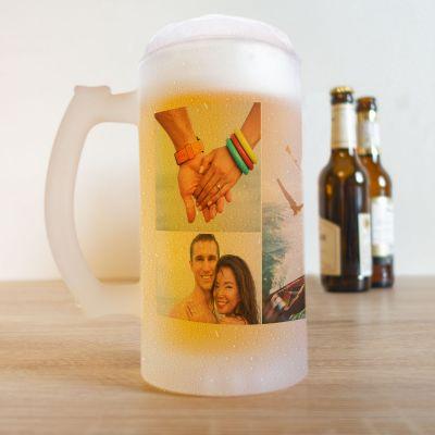 Prodotti esclusivi - Boccale da Birra con 5 Foto