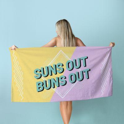Accessori Piscina - Asciugamano Personalizzabile Colorato