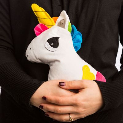 Regali Unicorno - Unicorno Coccolone – Riscaldabile