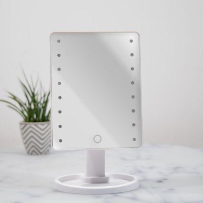 Lifestyle & Casa - Specchio Hollywood Bianco con LED