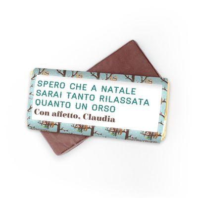 Dolci esclusivi - Cioccolata Personalizzabile