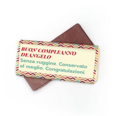 Regali per la Festa del Papà - Cioccolata Personalizzabile