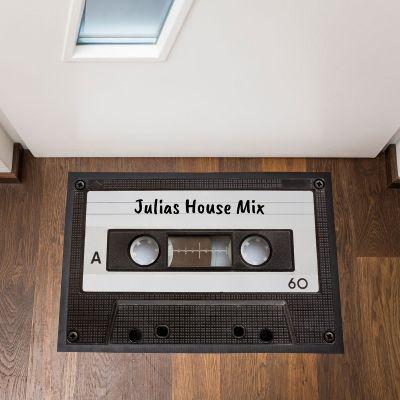 Idee regalo amica - Zerbino Personalizzabile Audiocassetta