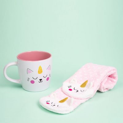 Set Calzini e Tazza Kittycorn
