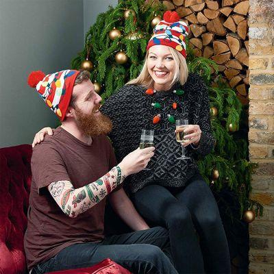 Accessori - Cappello di Natale con Luci