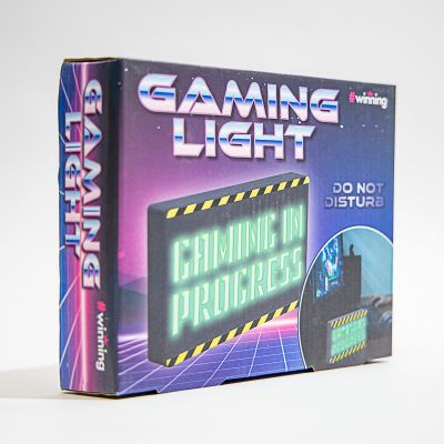 Gioco & Divertimento - Cartello Luminoso per Gamer