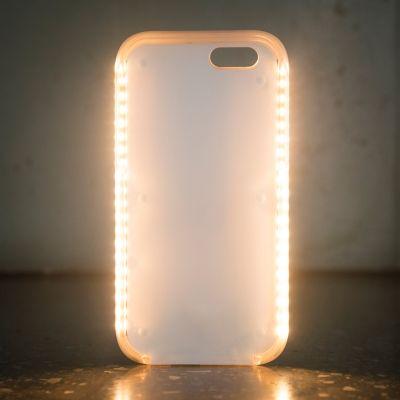 Regali 18 anni - Custodia Luminosa Powerbank per iPhone 6/6S/7
