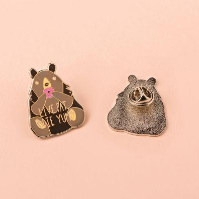 Gioielli - Spilletta Fat Bear