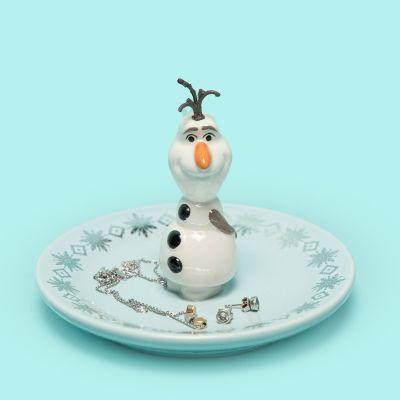 Piattino Portagioie Pupazzo di Neve Olaf