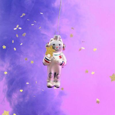 Decorazione - Palla di Natale Gatto Astronauta