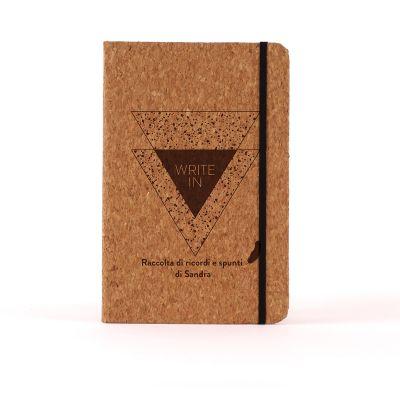 Idee regalo amica - Notebook Personalizzabile in sughero - Write In