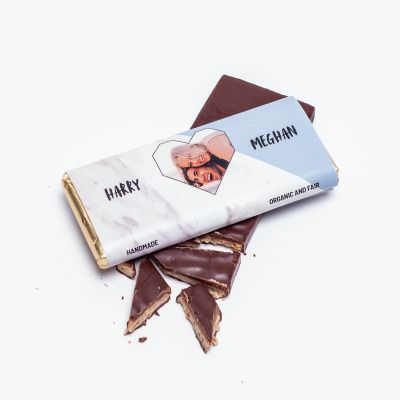 Regali Romantici - Cioccolato personalizzabile con foto e testo