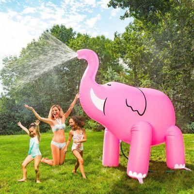 Gioco & Divertimento - Irrigatore Gigante Elefante Rosa