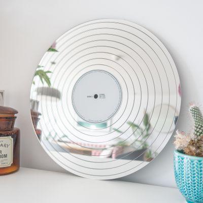 Decorazione - Specchio Disco di Platino