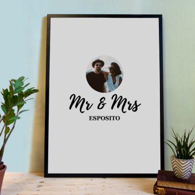 Regali di Matrimonio - Poster Personalizzabile da usare come Libro degli Ospiti